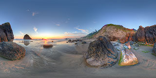 Cannon Beach Panorama