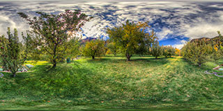 Oak Creek Orchard Panorama