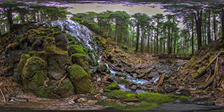 Ramona Falls Panorama