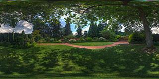 Rose Garden Panorama