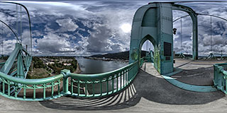 St. John's Bridge Panorama